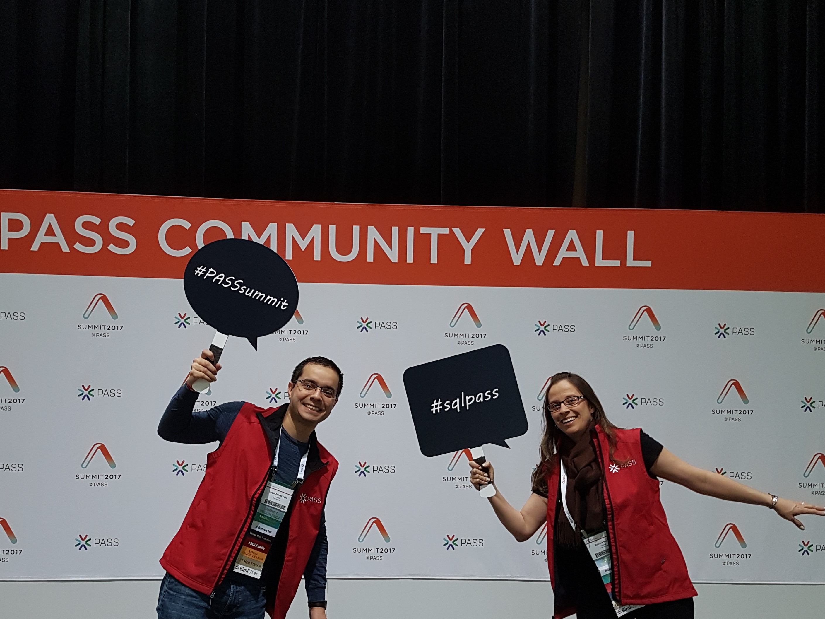 PASSSummit2017_PASS Community Wall 1